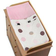 Mod Dots Pink Collection Changing Pad Cover