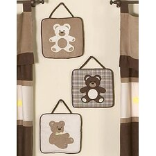 Teddy Bear Chocolate Collection Wall Hangings