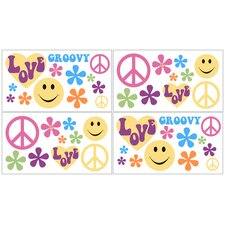Groovy Collection Wall Decal Stickers
