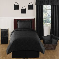 Black Diamond  Toddler Bedding Collection 5 Piece Set