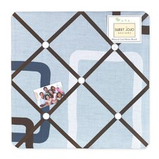 Geo Blue Collection Memo Board