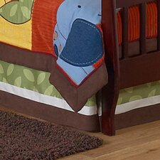 Jungle Time Toddler Bed Skirt