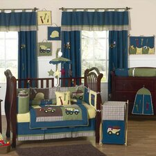 Construction Zone Crib Bedding Collection