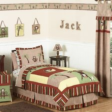 Monkey Time Kids Bedding Collection