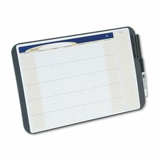 Tack & Write Monthly Calendar Board in Black