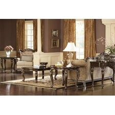 Grand European Coffee Table Set