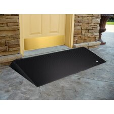 Rubber Threshold Ramps with Beveled Edges (Set of 2)