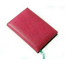 On the Go Pebble Grain Small Address Book in Pink