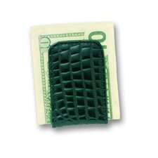 European Bidente Croco Magnetic Money Clip