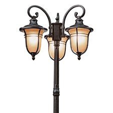 "3 Light 84.5"" Post Lantern Set"