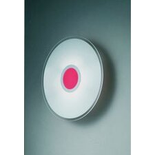 Coloring Red Round Ceiling / Wall Lamp