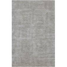 Luminous Blue Gray Rug