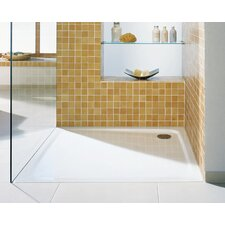 "Superplan 47.2"" x 47.2"" Shower Tray in White"