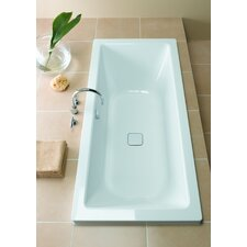 "Conoduo 67"" x 30"" Three Wall Bathtub with Reversible Drain"