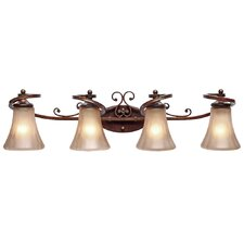 Loretto 4 Light Bath Vanity Light