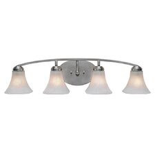 Accurian 4 Light Bath Vanity Light