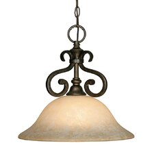 Heartwood 1 Light Nook Inverted Pendant