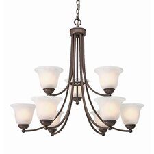 Candace 9 Light Chandelier