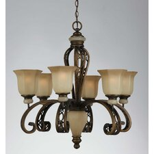 Ironstone 6 Light Chandelier