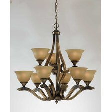Value Series 230 9 Light Chandelier
