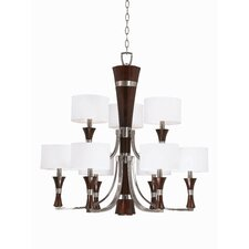 Brady 9 Light Chandelier