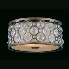 Cartier 2 Light Flush Mount