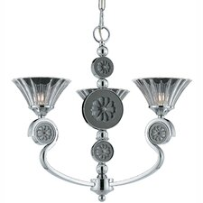 Medallion 3 Light Mini Chandelier
