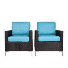 Napa Srings Chair with Cushions (Set of 2)