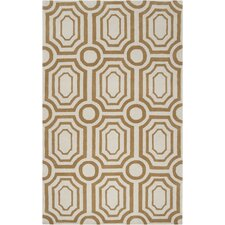 Hudson Park Old Gold/Winter White Rug