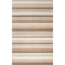 Madison Square Oyster Gray Multi Rug