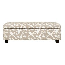 Kent Wall Hugger Polyester Storage Bench