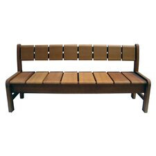 High End Sophisticated Pacific Wood Garden Bench