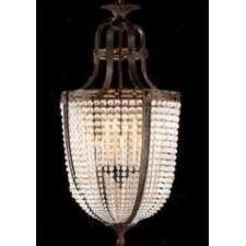 Longas Fifteen Light Traditional Pendant in Oxidate Bronze