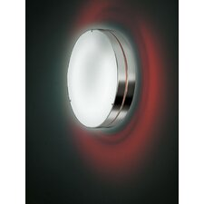 Tamburo Two Light Flush Mount/Wall Light in Gray