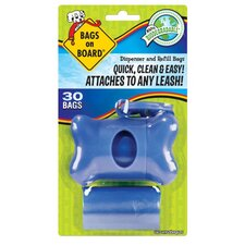 Bone Pet Dispenser Pack in Blue