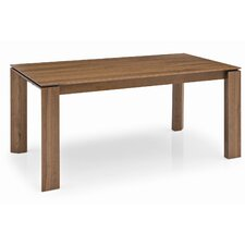Omnia Wood Adjustable Extension Dining Table