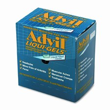Advil Liqui-Gels Pain Reliever Refill (50 Packs per Box)
