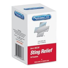 Sting Relief Pad (10 Per Box)