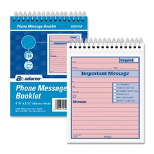 "While You Were Out Phone Message Book, 50 Sets, 4""x5-1/2"""