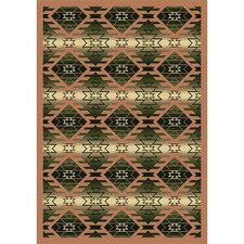 Whimsy Canyon Ridge Cactus Kids Rug