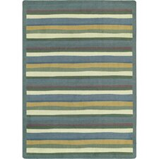 Just for Kids Yipes Stripes Soft Kids Rug