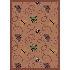 Nature Rose Wing Dings Novelty Rug