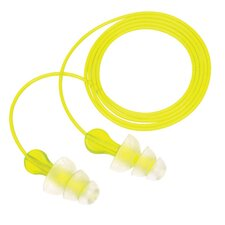 Use Peltor® NEXT™ Tri-Flange™ Triple Flange Acrylic Corded Earplugs With Vinyl LiveWire Cord (100 Pair Per Box)
