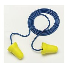 Use E-A-R® E-Z Fit™ Bell Shaped PVC And Foam Corded Earplugs (1 Pair Per Poly Bag, 200 Pair Per Box)