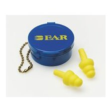 Use E-A-R® UltraFit® Triple Flange Foam Uncorded Earplugs (50 Pair Per Box)
