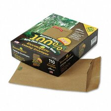 Envirotech 60Lb. Catalog Envelope, Side Seam, 9 X 12, Kraft, 110/Box