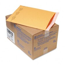 Jiffylite Self-Seal Mailer, Side Seam, #4, Golden Brown, 25/carton