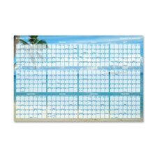 Tropical Erasable Wall Planner