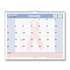 Breast Cancer Awareness Wall Calendar