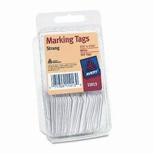 Paper Marking Tags, 1 3/4 X 1 3/32 (100/Pack)
